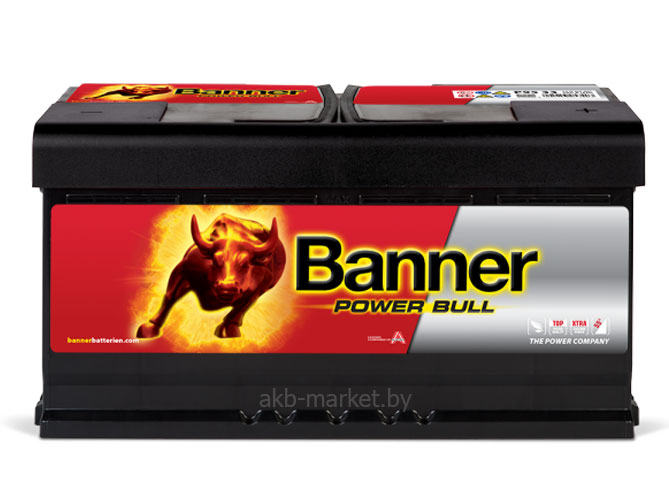 Aккумулятор  6СТ-95 Banner Power Bull P95 03